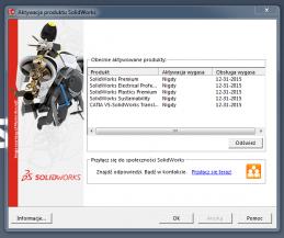 Certyfikat za darmo SolidWorks