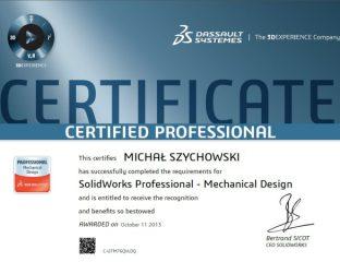 Certyfikaty SolidWorks – Część 2: CSWP