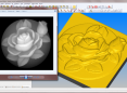 AlphaCAM - zamiana formatu BMP na obiekt 3D