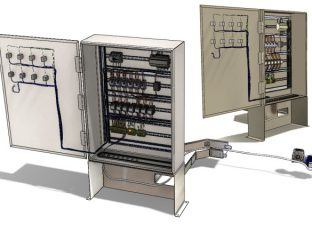 SolidWorks Electrical - trasowanie kabli - dławiki
