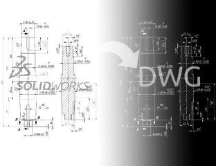 Eksport do DXF/DWG - Znikające widoki