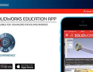 SOLIDWORKS Education App – aplikacja na telefon dla nauczycieli i studentów
