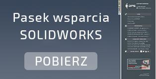 Pasek wsparcia SOLIDWORKS
