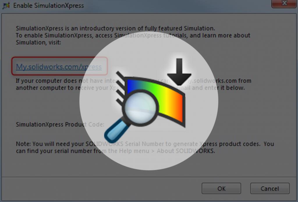 simulationxpress nie działa aktywacja