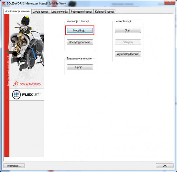 solidnetworks license manager server
