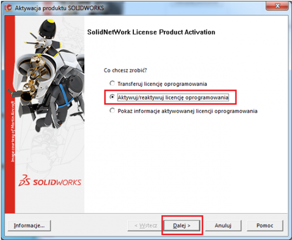 solidnetworks license product activation