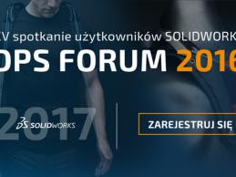 DPS FORUM 2016 | XV spotkanie użytkowników SOLIDWORKS