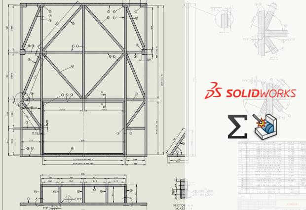 Konstrukcje spawane SOLIDWORKS   Sumowanie członów w złożeniu