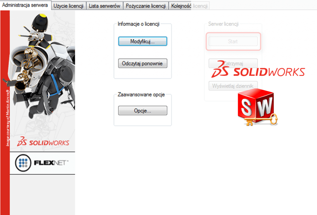 DPSTODAY aktywacja serwera licencji solidworks