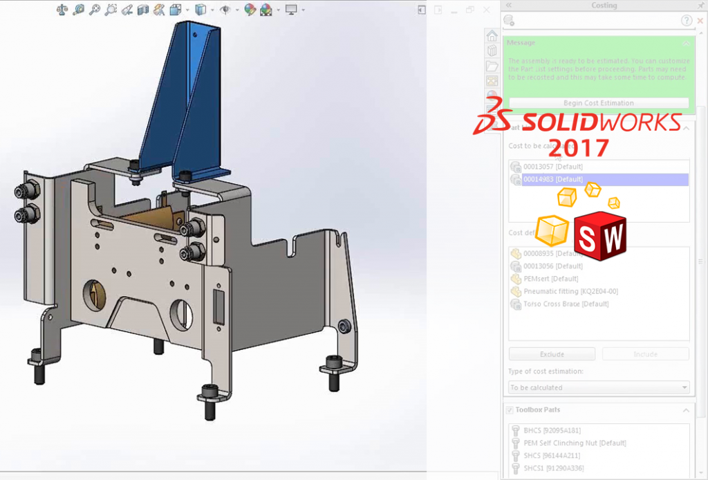 DPSTODAY solidworks 2017 costing
