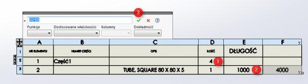 sumowanie tabeli członów konstrukcji spawanych 2