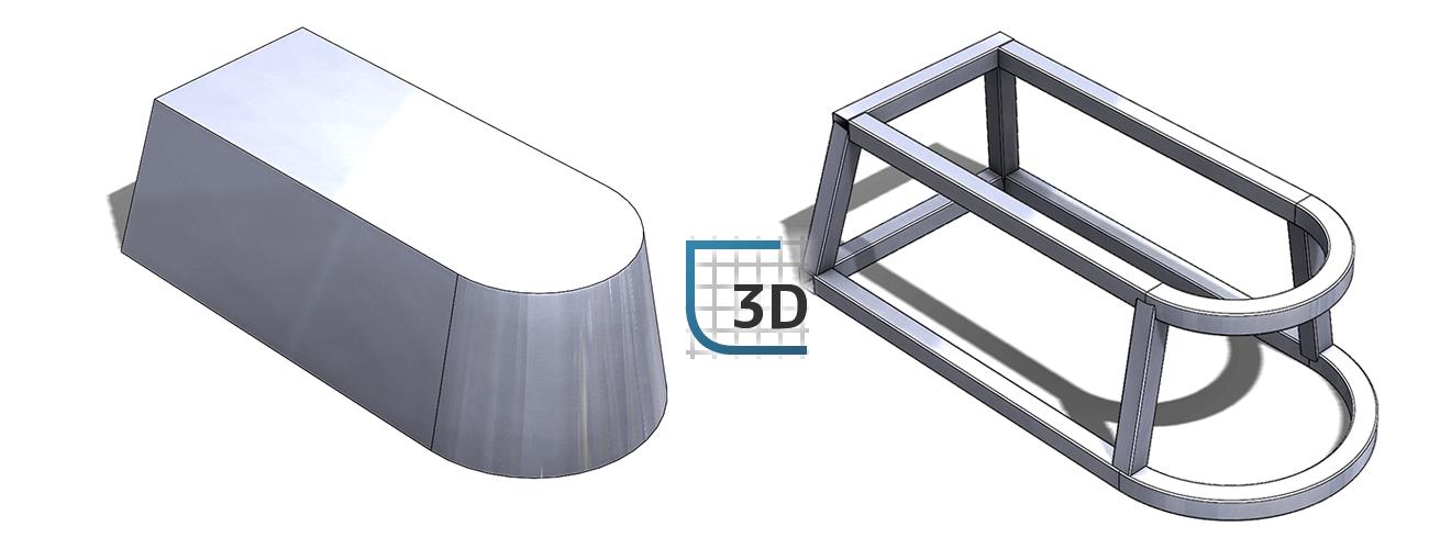 ak szybko tworzyć Szkic 3D do konstrukcji spawanych