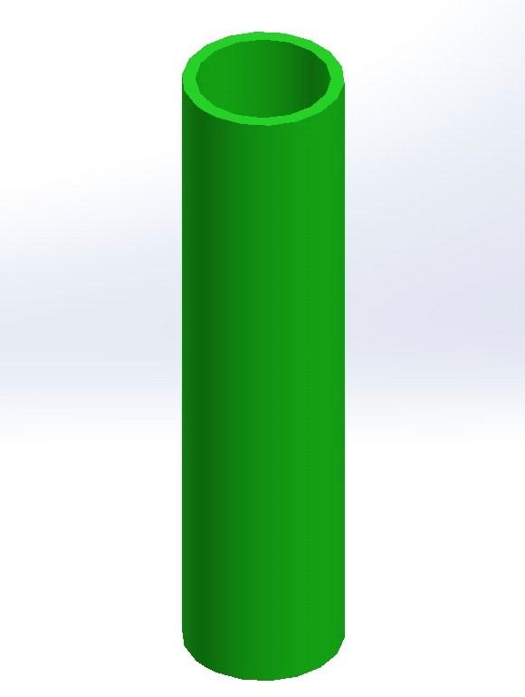 tuba solidworks rura