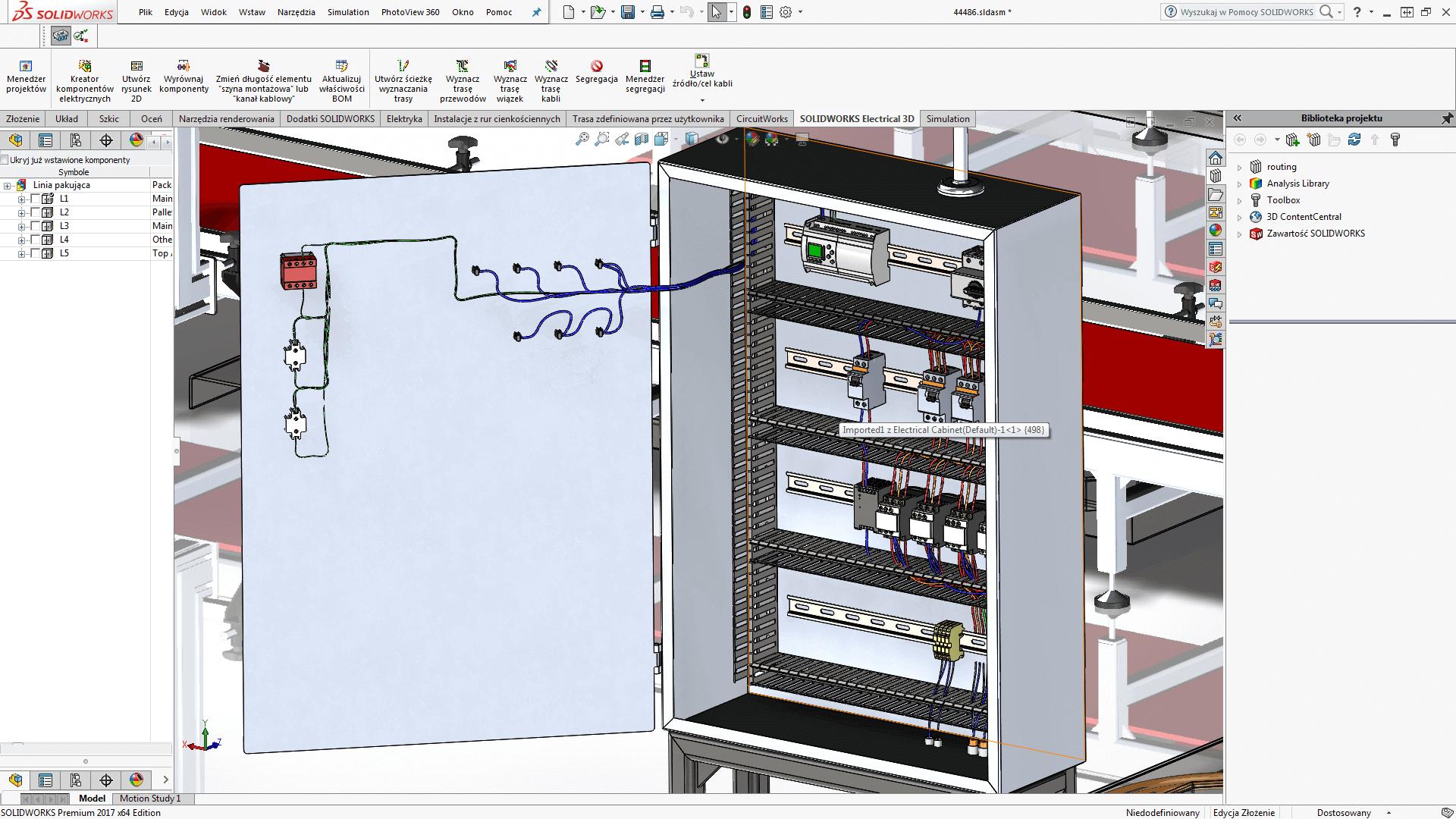 potrzebne oprogramowanie mechatronika solidworks elektryczne electrical