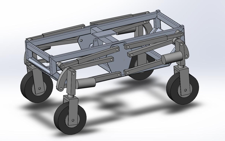 prototyp solidworks zawieszenie tworek