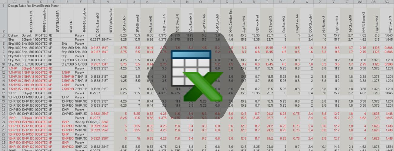 solidworks tabela konfiguracji dpstoday
