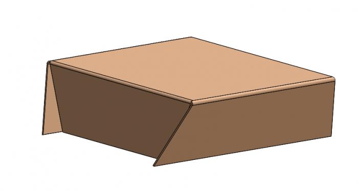 arkusz blach solidworks edycja krawędzi