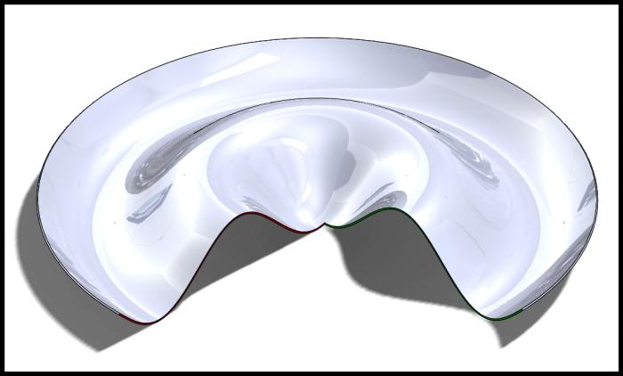 sinusoida solidworks wyciągniecie przez obrót