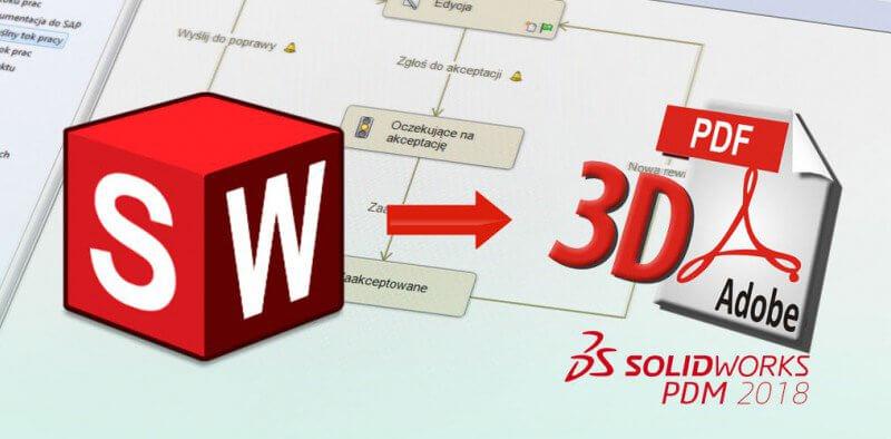 Automatyczne tworzenie efektownych prezentacji 3D PDF z SOLIDWORKS PDM