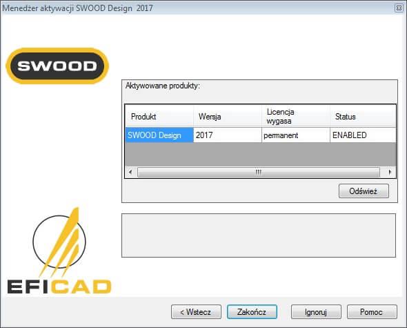 swood design cam aktywacja