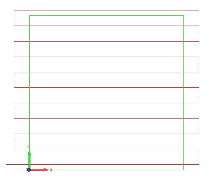 kwadrat obróbka alphacam planowanie