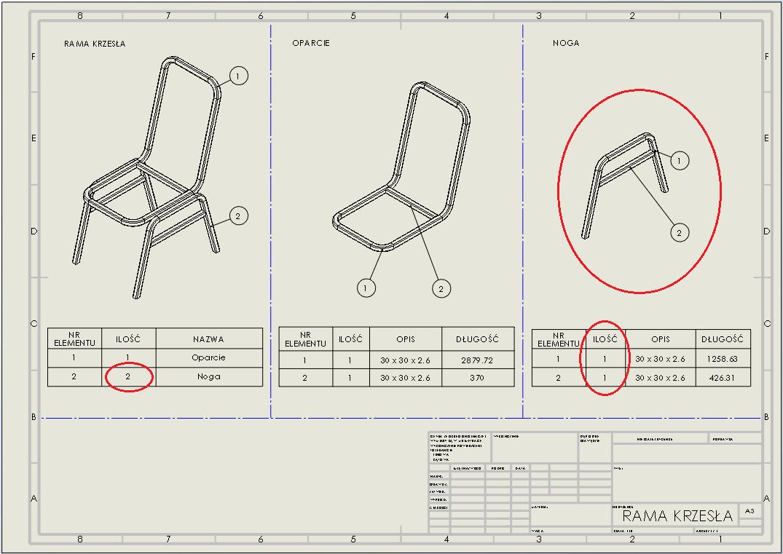 dokumentacja techniczna 2d rysunek-spawany spawana konstrukcja weldments drawing