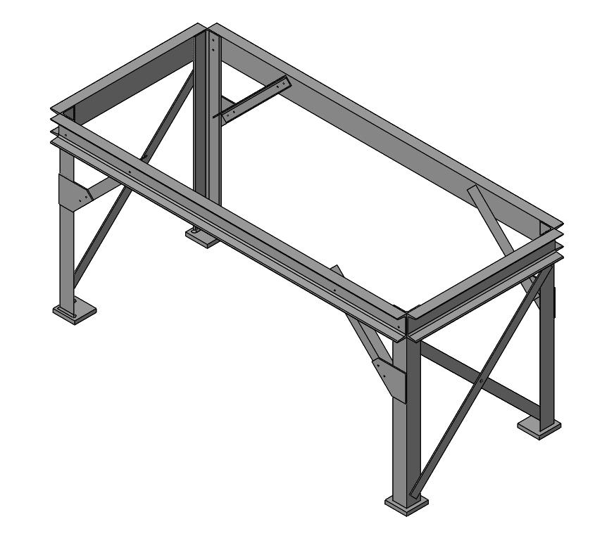 elementy konstrukcja spawana solidworks
