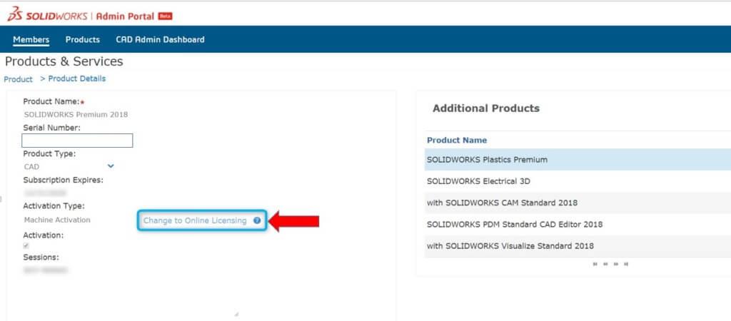 zamień licencje solidworks my mysolidworks licencja online