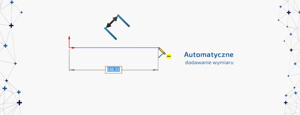 automatyczne dodawanie wymiaru solidworks