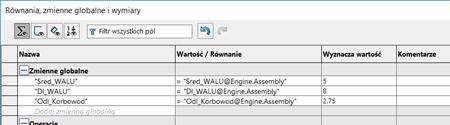 zmienne globalne w solidworks - dpstoday - blog solidworks - dps software