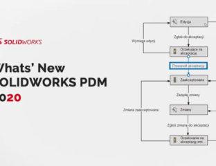 Nowości SOLIDWORKS PDM 2020 - What's New