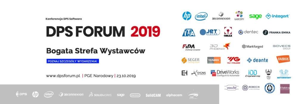 Strefa Wystawców oraz Partnerzy - Konferencja DPS FORUM 2019