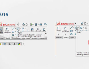 Nowości Interfejs SOLIDWORKS 2020 | DPSTODAY | DPS Software