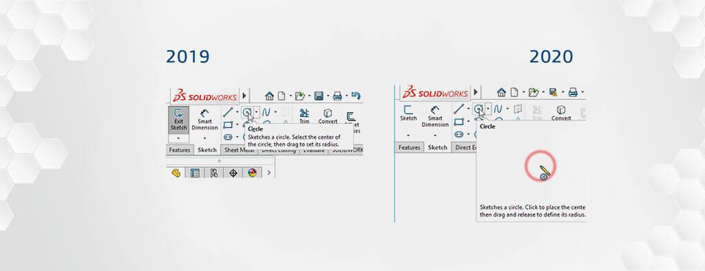 Nowości Interfejs SOLIDWORKS 2020 | DPSTODAY | DPS Software