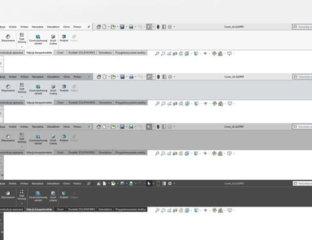 Kolor interfejsu i zmiana ikon w SOLIDWORKS