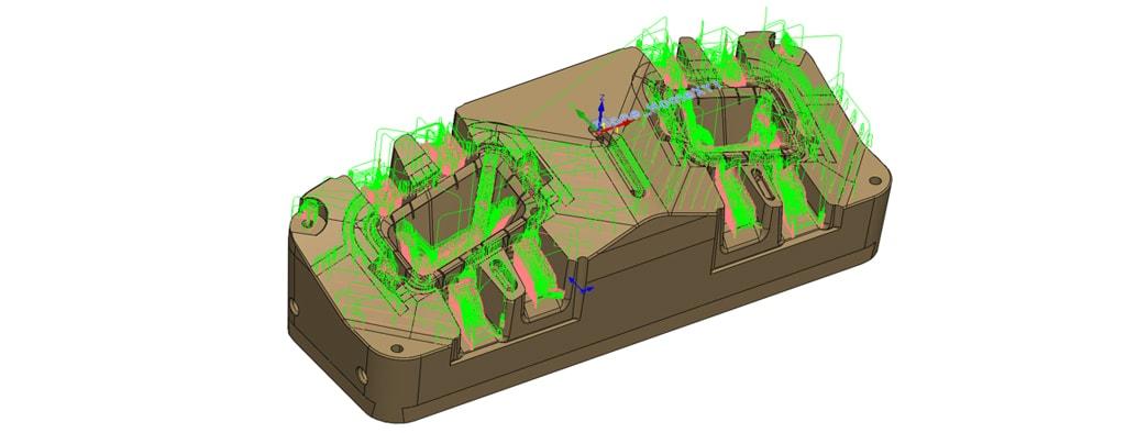 Nowości SOLIDCAM 2020 - Turbo 3D HSR – Rest Roughing (Resztki)
