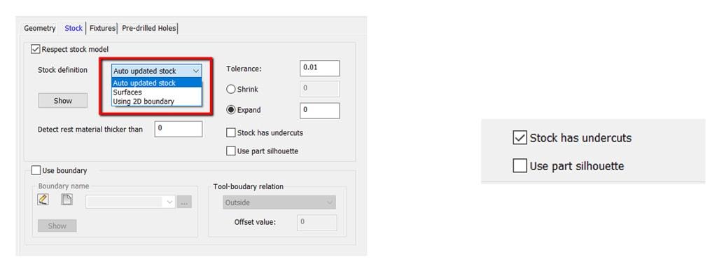 Nowości SOLIDCAM 2020 - Turbo 3D HSR – Lokalna Definicja Przygotówki
