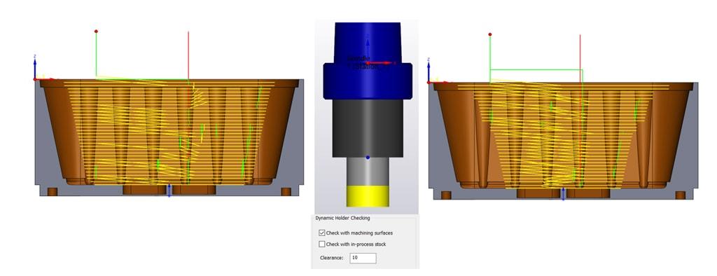 Nowości SOLIDCAM 2020 - Turbo 3D HSR – Dynamiczna Kontrola Oprawki