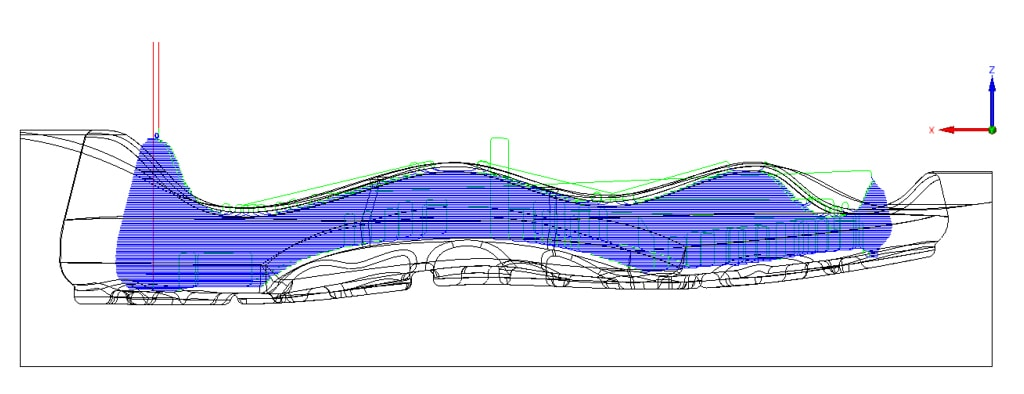 Nowości SOLIDCAM 2020 - Nowa Operacja – 3-Axis Undercut Milling (Frezowanie Podcięć)