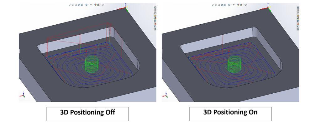Nowości SOLIDWORKS 2020 - 3D Positioning w iMachining