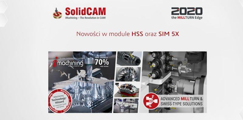 SolidCAM 2020 nowości w modul HSS i Sim 5x - DPS Software DPSTODAY