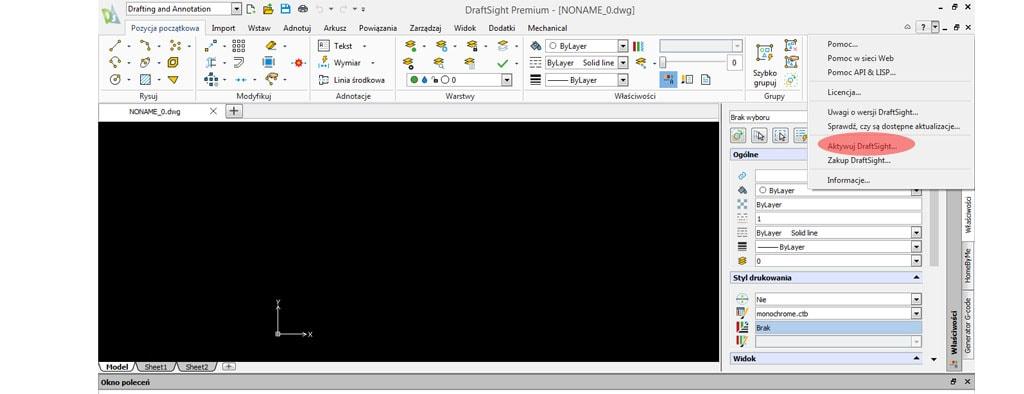 Transfer lub wypożyczenie licencji DraftSight - DPS Software - DPSTODAY