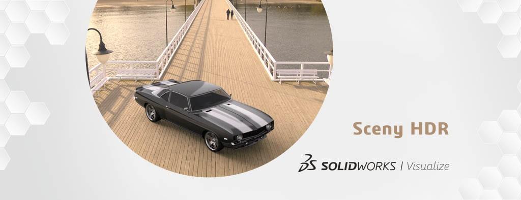 Tworzenie sceny HDR w SOLIDWORKS Visualize - DPSTODAY - DPS Software