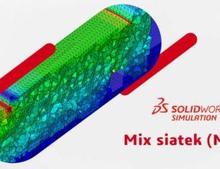 Mis siatek SOLIDWORKS Simulation 2020 Mesh