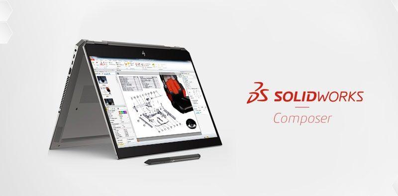 Aktualizacja widoków SOLIDWORKS Composer - DPS Software
