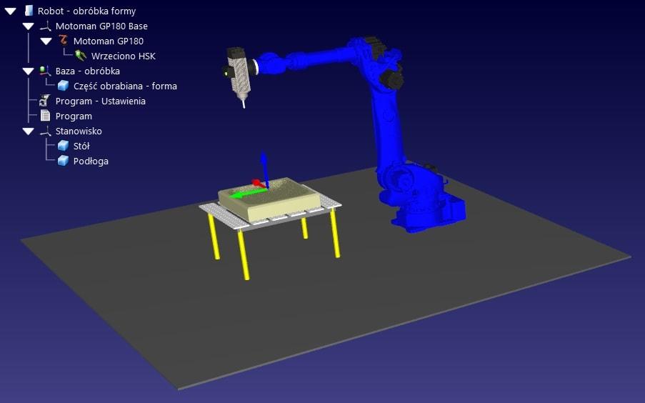 RoboDK programowanie procesów obróbki skrawaniem CNC