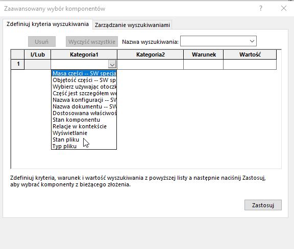 Wyodrębnienie typu pliku z poziomu złożenia SOLIDWORKS - DPSTODAY - DPS Software