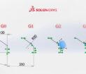 Relacja ciągłości skrętnej G3 płaszczyzny w SOLIDWORKS 2020