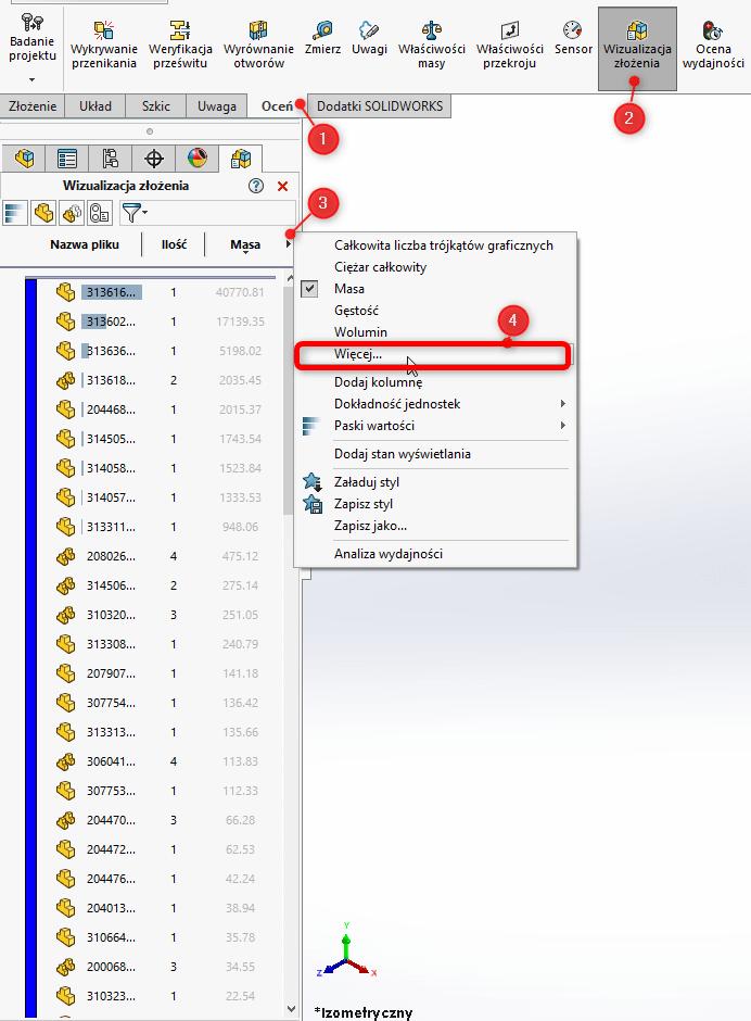 Popraw wydajność SOLIDWORKS - zmień ustawienia programu - DPSTODAY - DPS Software