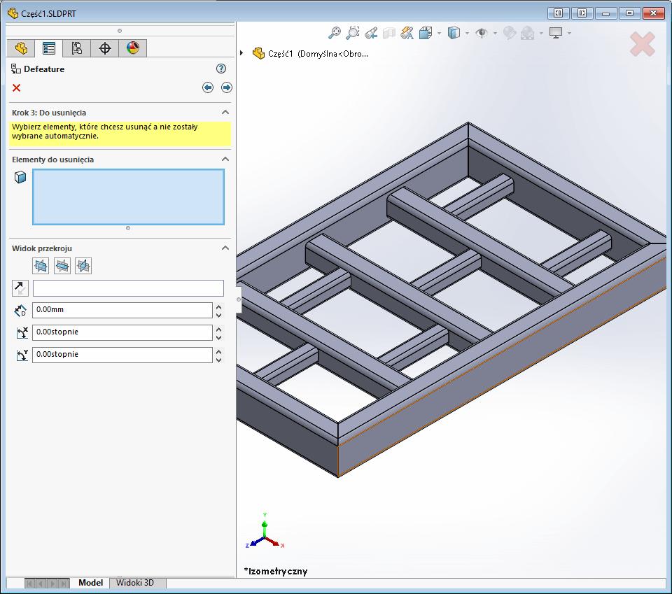 Upraszczanie modelu 3d cad – narzędzie Defeature w SOLIDWORKS - dpstoday